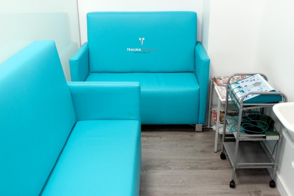 equipamiento en la clínica Trauma Granada