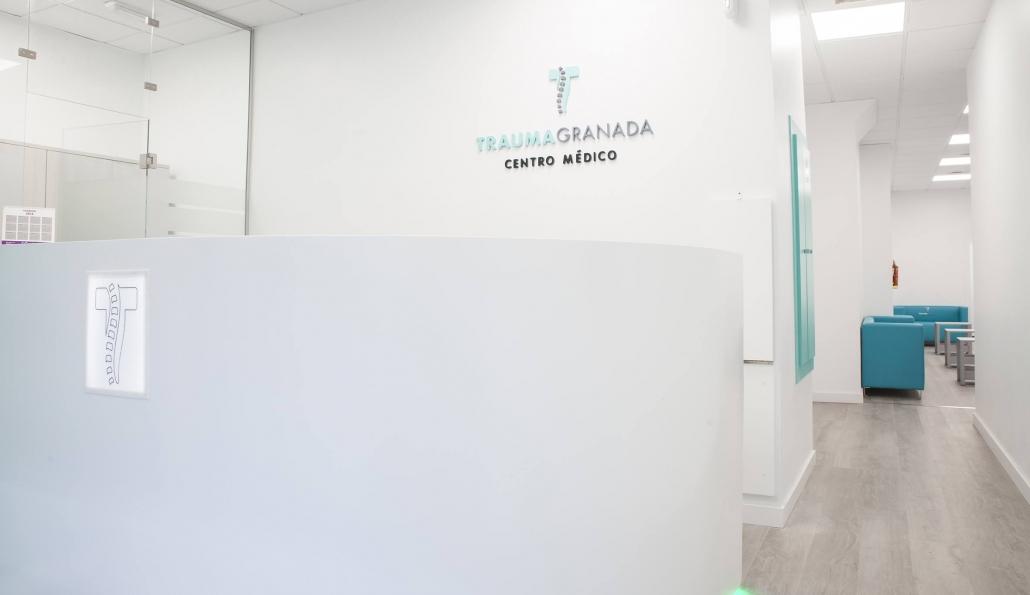 interior clínica Trauma Granada